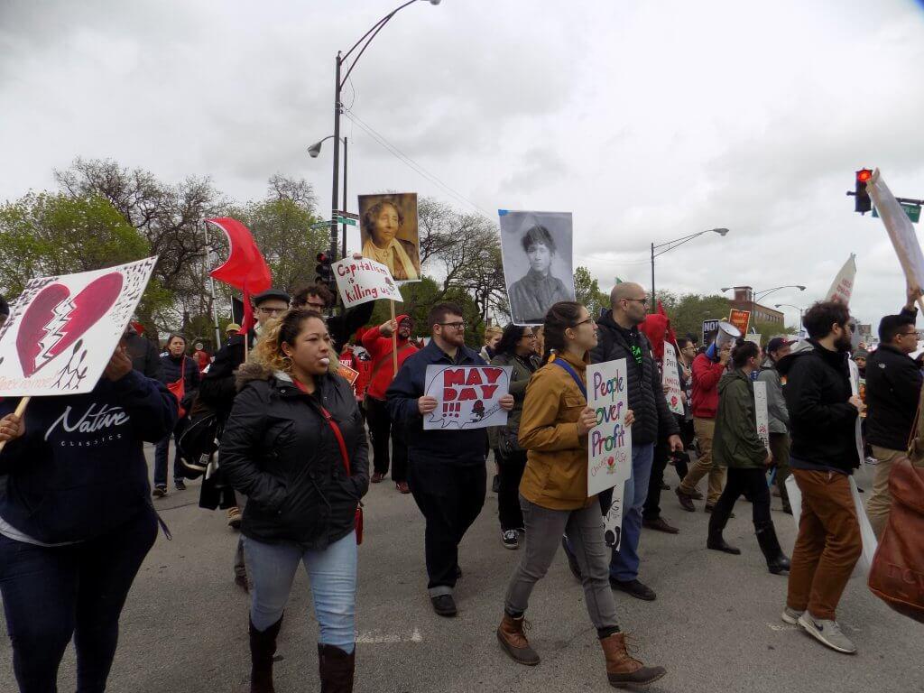 Inmigrantes Y Trabajadores Marchan El 1ro De Mayo La Ley