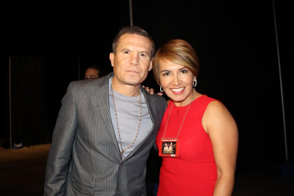 Al Piemonte Chevy >> Liz Liz - La Dama del Deporte arranca el Radio Row en Las Vegas con Julio Cesar Chavez Sr. y ...