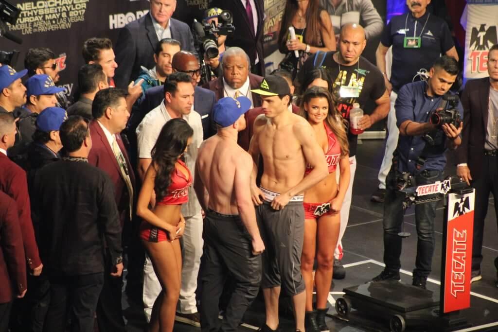 Pesaje Canelo Vs Chavez Jr En El Mgm Grand En Las Vegas