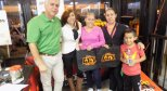 Lili en Boostmobile para Luries Children Radiothon 10-12-17